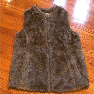 Gorgeous faux fur vest by Maurice's